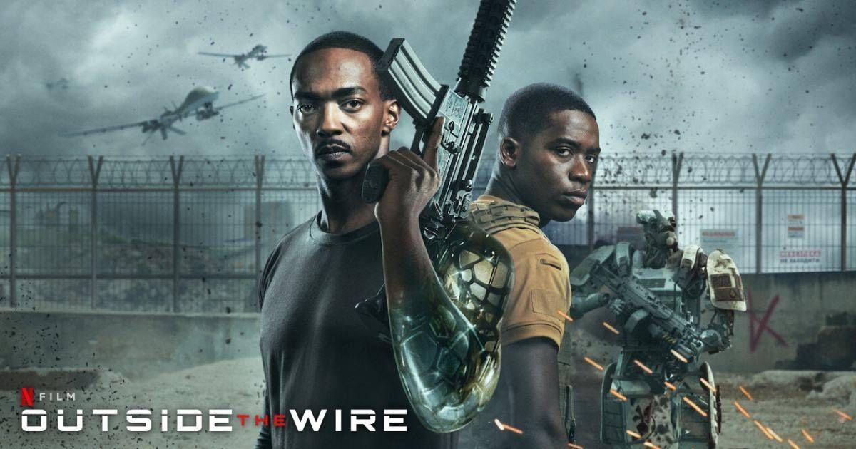 รีวิว Outside The Wire | Netflix สมรภูมินอกลวดหนาม